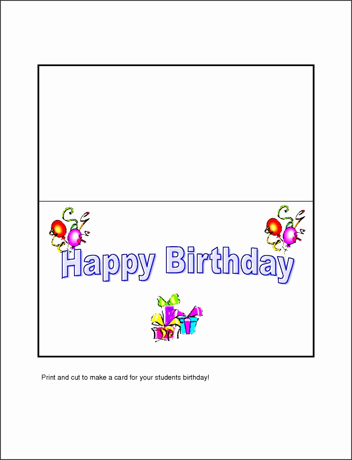 Beautiful 10 Free Microsoft Word Greeting Card Templates Pertaining To Birthday Card Templat Greeting Card Template Birthday Card Template Happy Birthday Cards