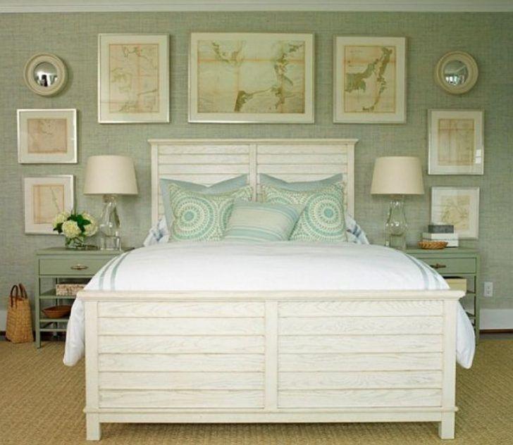 Beach Style Bedroom Furniture Coastal Master Bedroom Beach ...