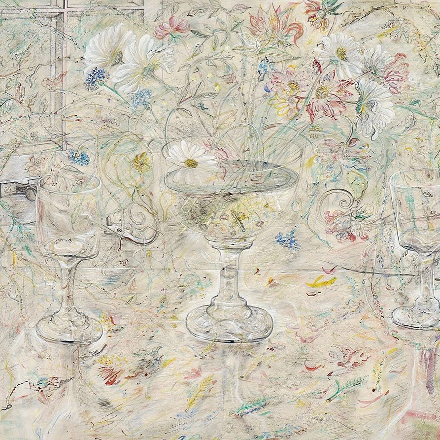 Our work of the week is 'Flora in Calix Light' by David Jones. Whose birthday is this Sunday 1 November. We have leant several of our David Jones works including this one to David Jones: Vision and Memory currently on show at Pallant House Gallery. David Jones (18951974) was a painter engraver poet and maker of inscriptions. Flora in Calix Light represents one of the most joyous of his late watercolours celebrating life through a combination of natural subject-matter and religious…