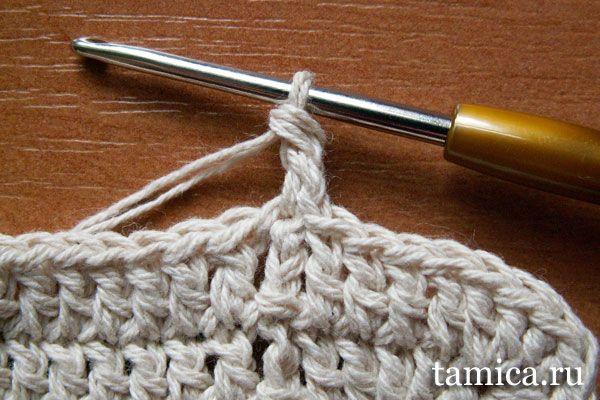 Круговое вязание спицами 59
