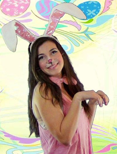 Rabbit Make-up | How to Create an Easter Bunny Makeup Look ...