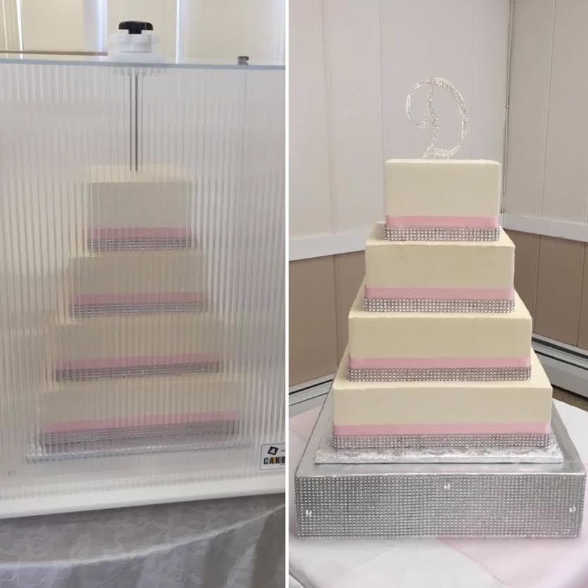 Sweet Sue's Bakery delivered 2 cakes in one day with their CakeSafe. Protect your cakes from so many possible disasters by using a CakeSafe.