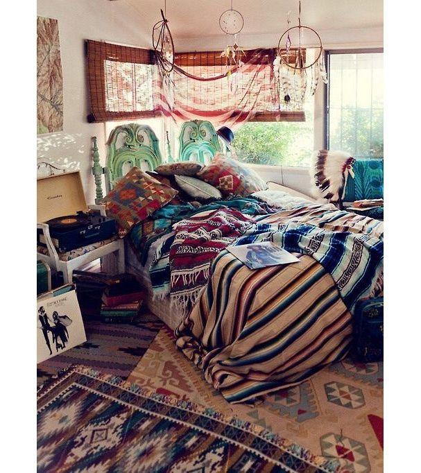 Pinterest : 35 intérieurs bohèmes pour s\'inspirer | Bedrooms ...