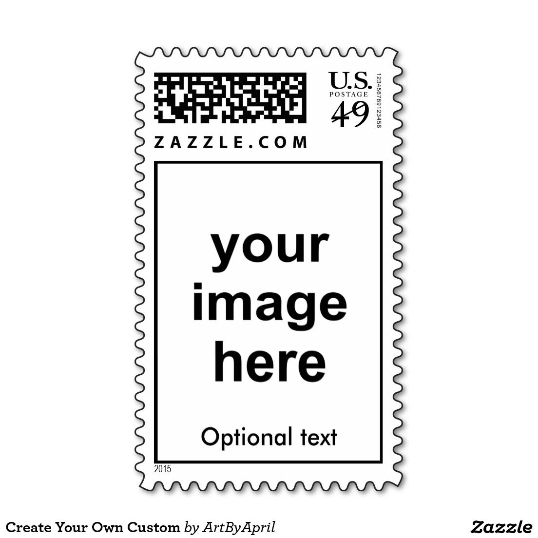 Create your own custom postage custom