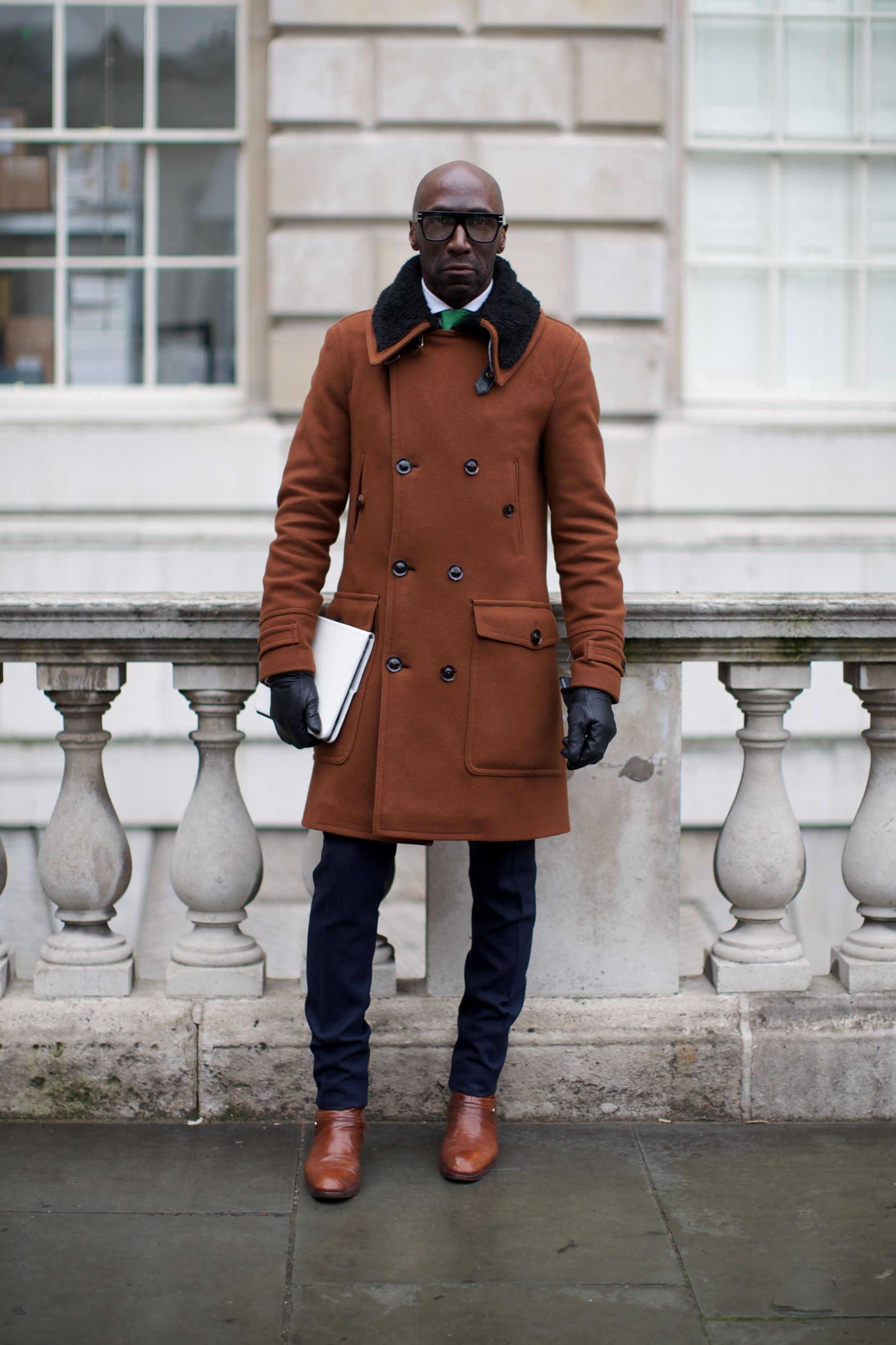 Street Style at London Fashion Week. Photographs by Marcus Dawes for LFW The Daily, (www.marcusdawes.com)