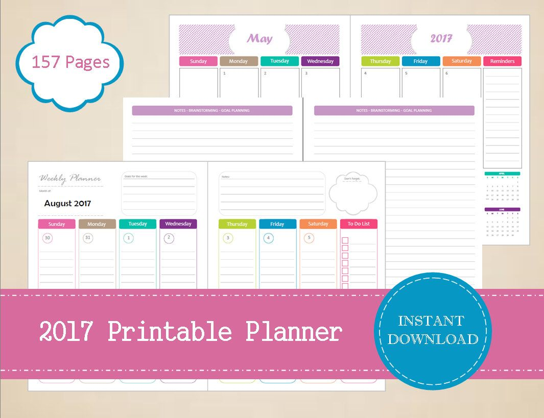 pin by cory davis on planner | pinterest | printable planner, weekly