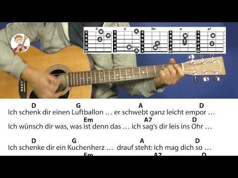 Ich schenk dir einen Regenbogen – Kinderlied, mit Akkorden & Text für Gitarre z… – Petra Altrichter