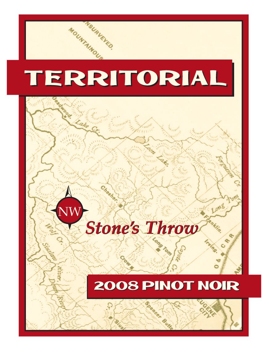 Territorial Vineyards Wine Co Pinot Noir Pinot Malbec