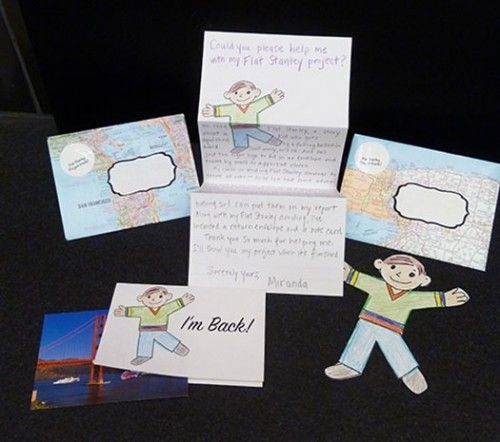 Templates for a Flat Stanley Mailing Kit \u2013 Bookmaking With Kids