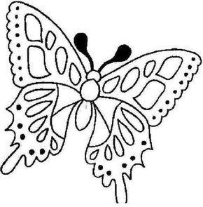 Moldes De Bonitas Mariposas Para Pintar Moldes Pinterest