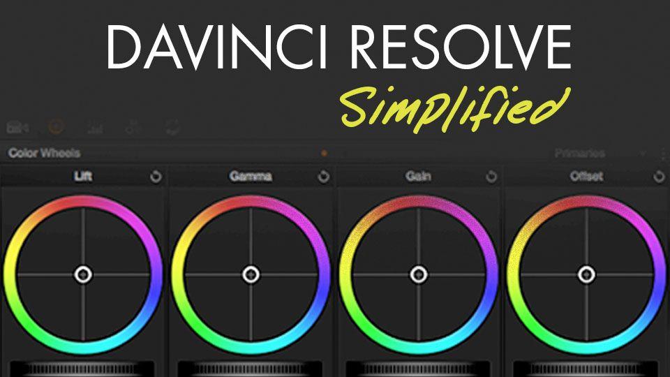 Color Grading in DaVinci Resolve Simplified 4K Film
