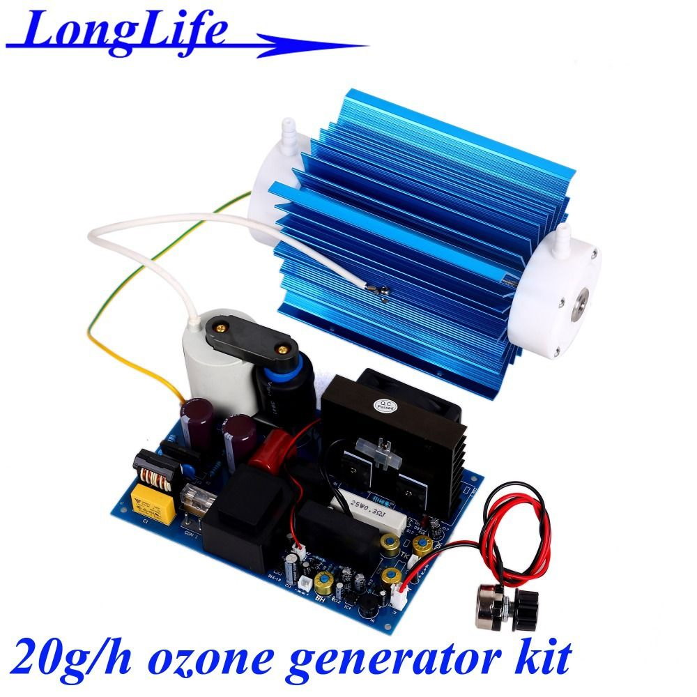 Lf 11020qbot Ac220v Ac110v 20g H 20gram 21g Adjustable Quartz Ozone Generator Circuit Tube Type Kit Generating Power