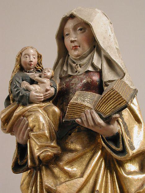 Resultado de imagem para saint anne mary and jesus