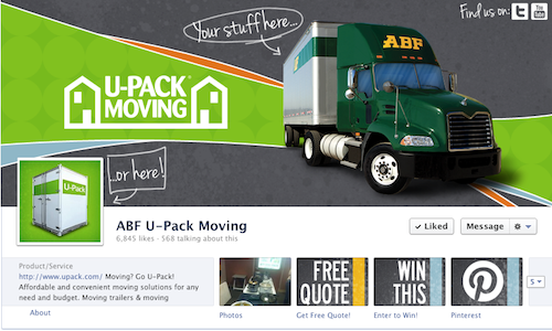 Upack Quote Amusing Abf Upack Moving Has Not Only Created An Inviting And Informative