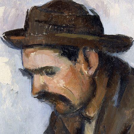 Paul Cezanne, El jugador de cartas, 1890-1892.