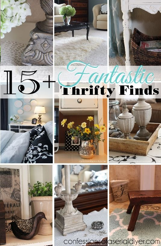 My Thrifty Decor 15 Fantastic Thrifty Finds Thrifty Decor