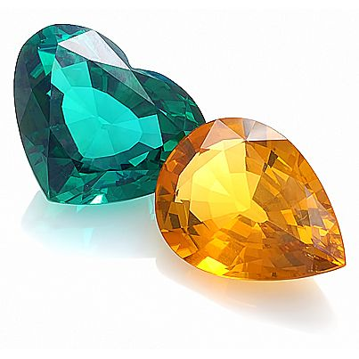 Composing a color combo is the key to creating stunning, dramatic pieces of jewelry. So good together - Tourmaline and Citrine.