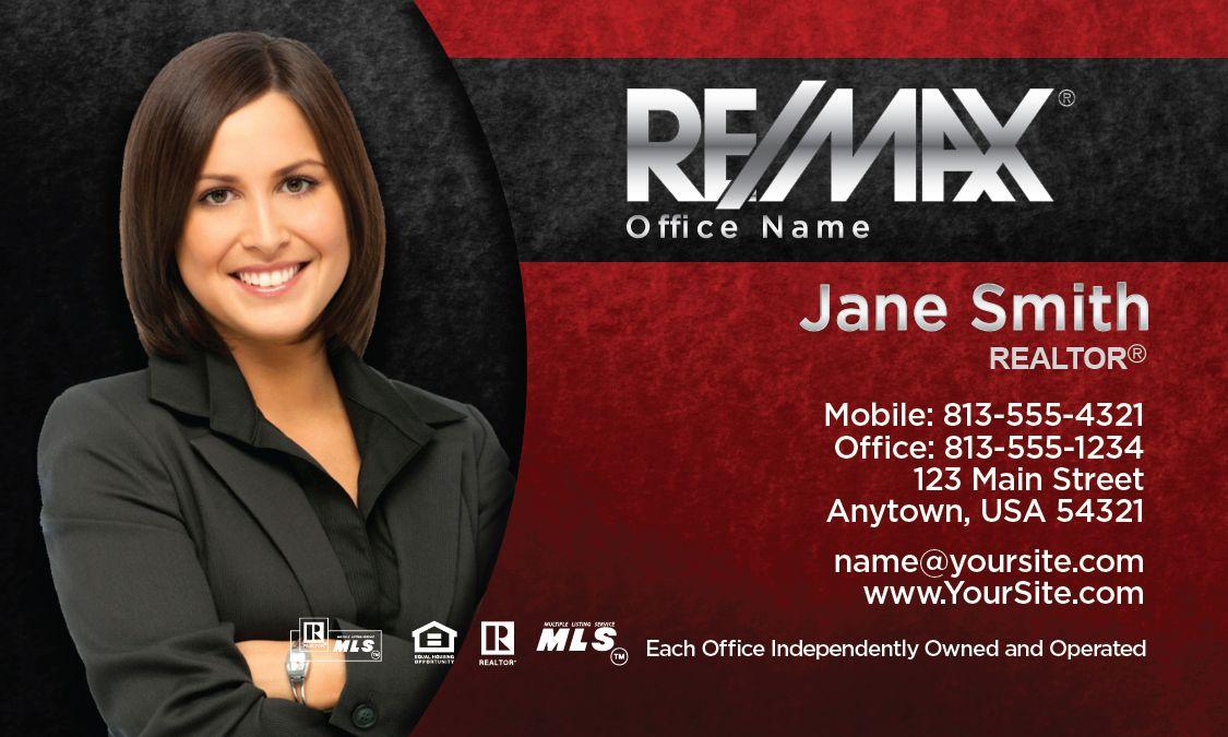 Remax Business Card design   RE/MAX   Business card design