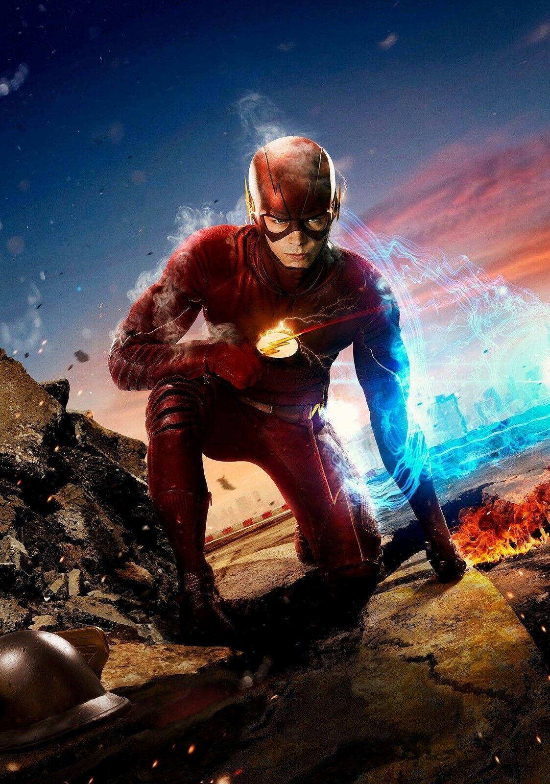 THE FLASH TV Show Series Art Barry Allen Grant Gustin