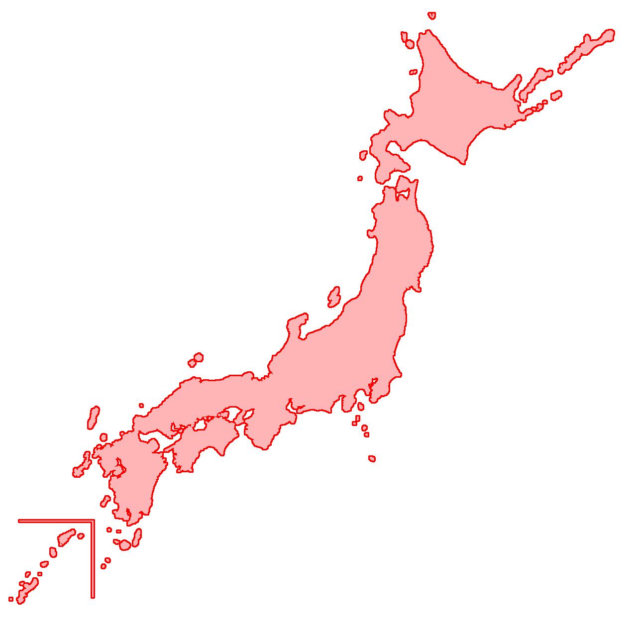 日本地図 - Google 検索