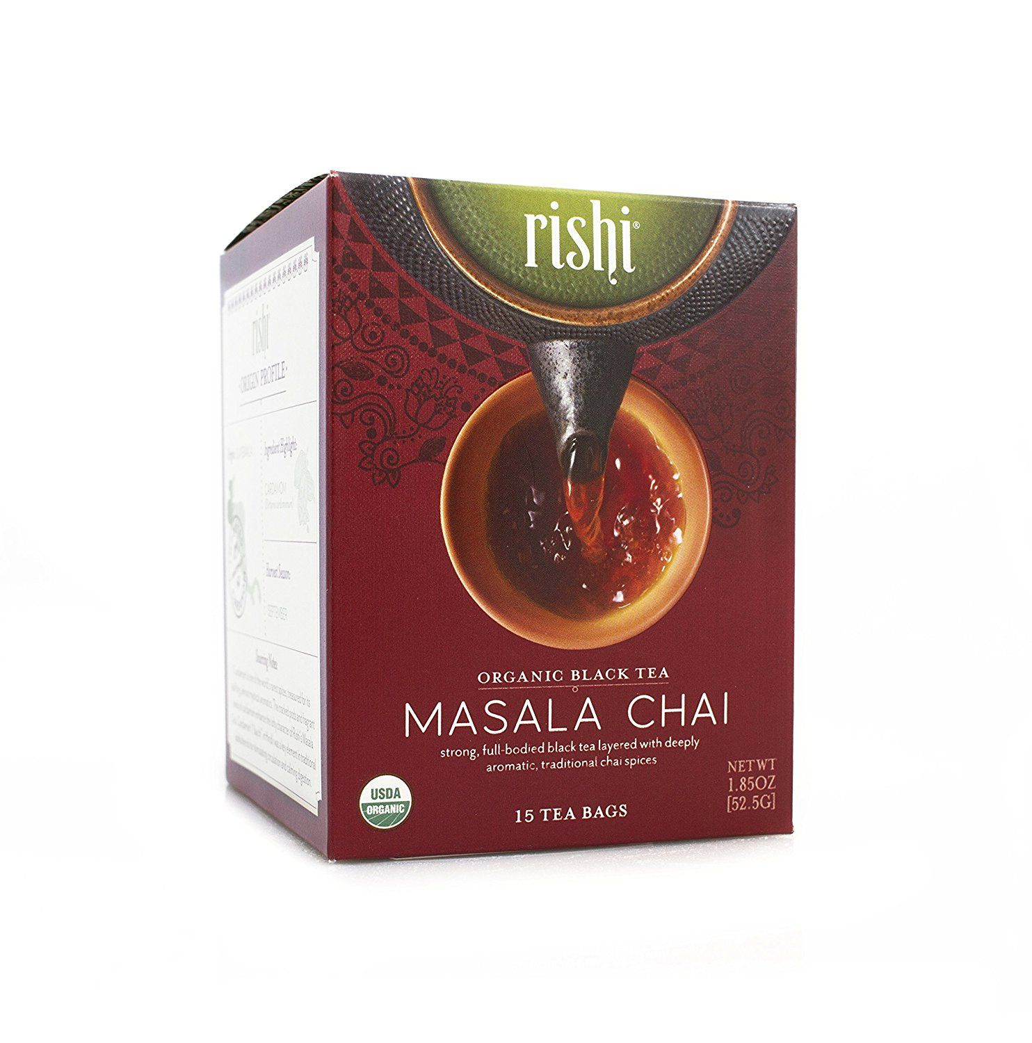 Rishi Tea Organic Masala Chai Tea Bags, 15 Count (Pack of 6) *** Find out more about the great product at the image link. (This is an affiliate link and I receive a commission for the sales)