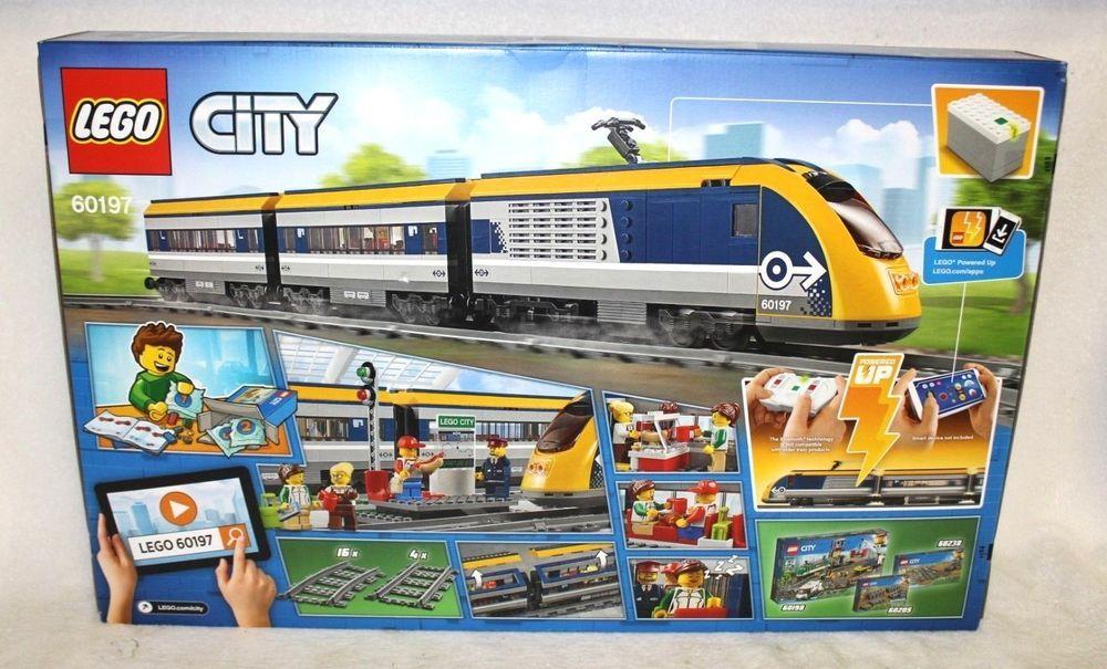 Lego City Passenger Train 60197 Lego City Cargo Train Lego City Lego City Train