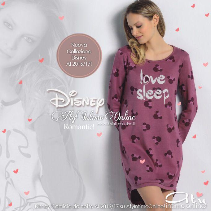 Camicie da notte donna! Moda diseny invernale! Romantiche fantasie e belle  tonalità per la