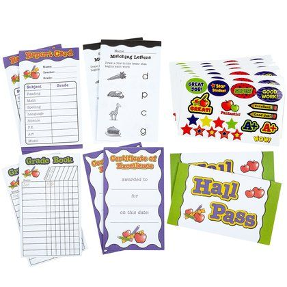 Learning Resources Pretend Play School Set Accessory Kit Kids