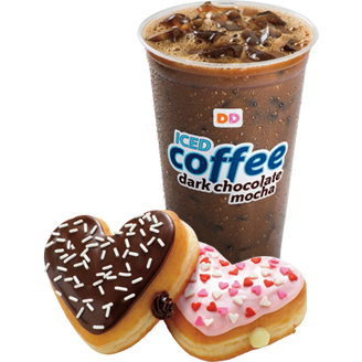 Dunkin' Donuts Iced Coffee (Dark Chocolate Mocha) Dunkin