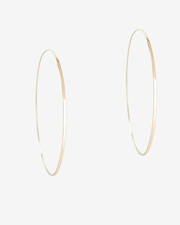 0ada8f6ec4b63 Lana Jewelry Large Flat Magic Hoop Earrings: Gold: Unmatched in its ...