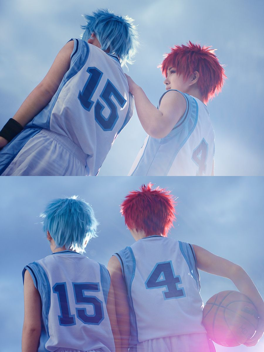 """""""I wasn't wrong about the potential I saw in you. So, believe in yourself a little more."""" Akashi xKuroko byJin&Akiphotos byReskiy"""