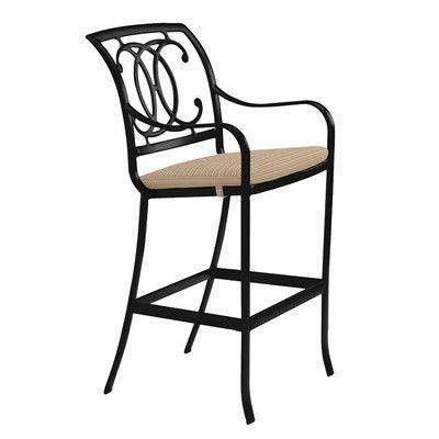 "Tropitone Palladian 32"" Bar Stool with Cushion"
