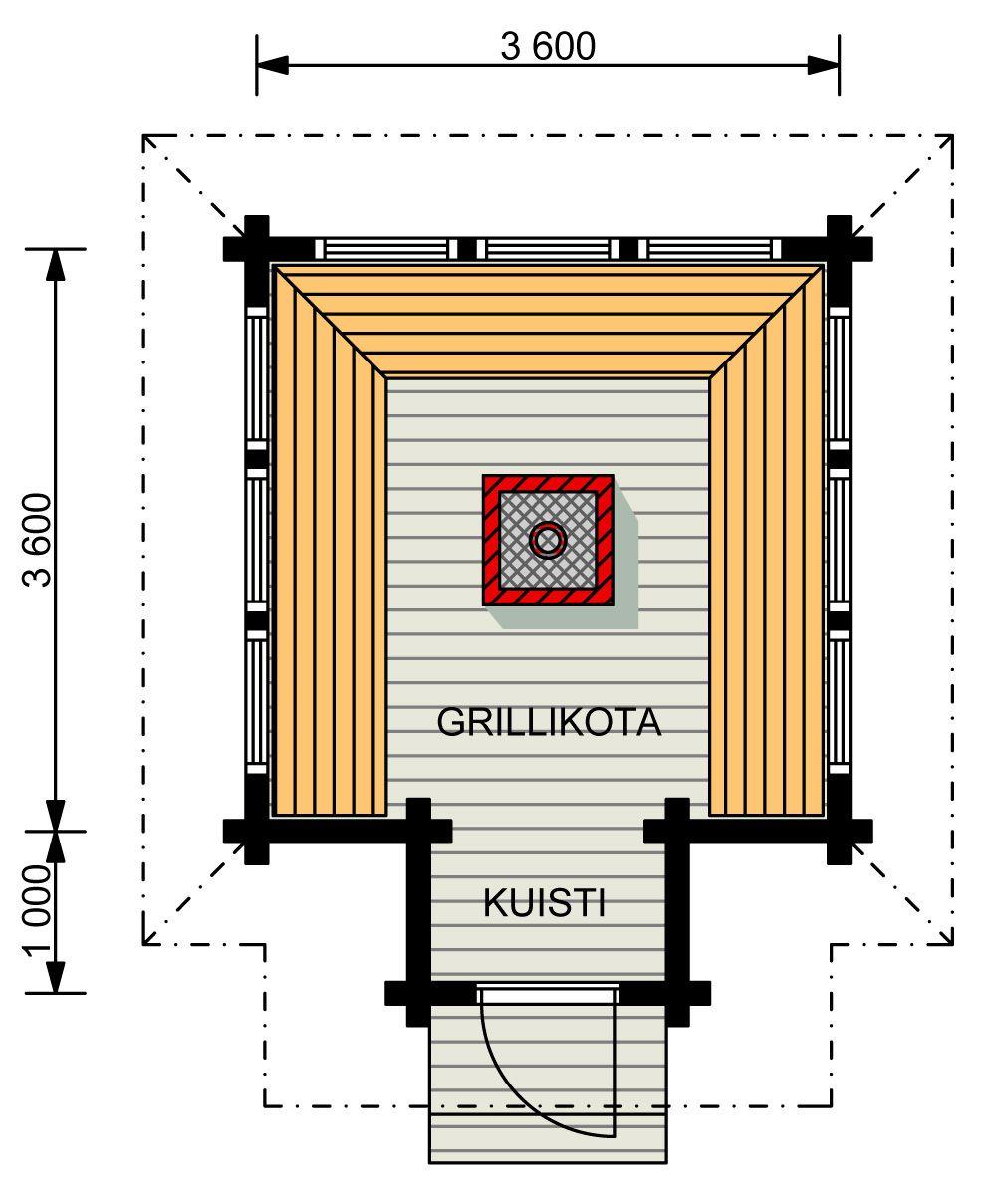 sauna-Kimara-Grillikota-alakerta