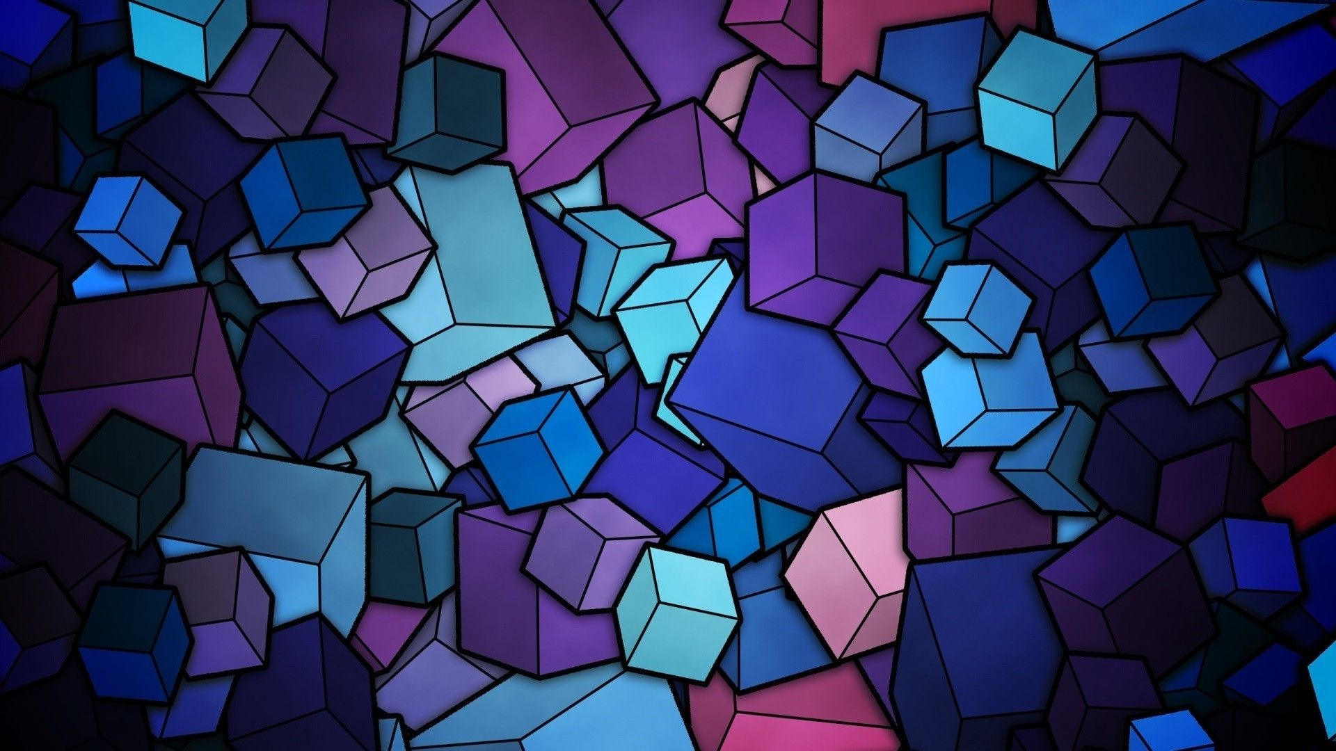 3d Cubes Vector Wallpapers Geometric Wallpaper Iphone Geometric Iphone Abstract Wallpaper