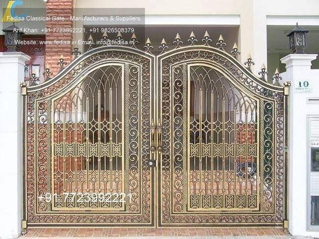 Latest main gate designs for house iron design steel modern also rh in pinterest