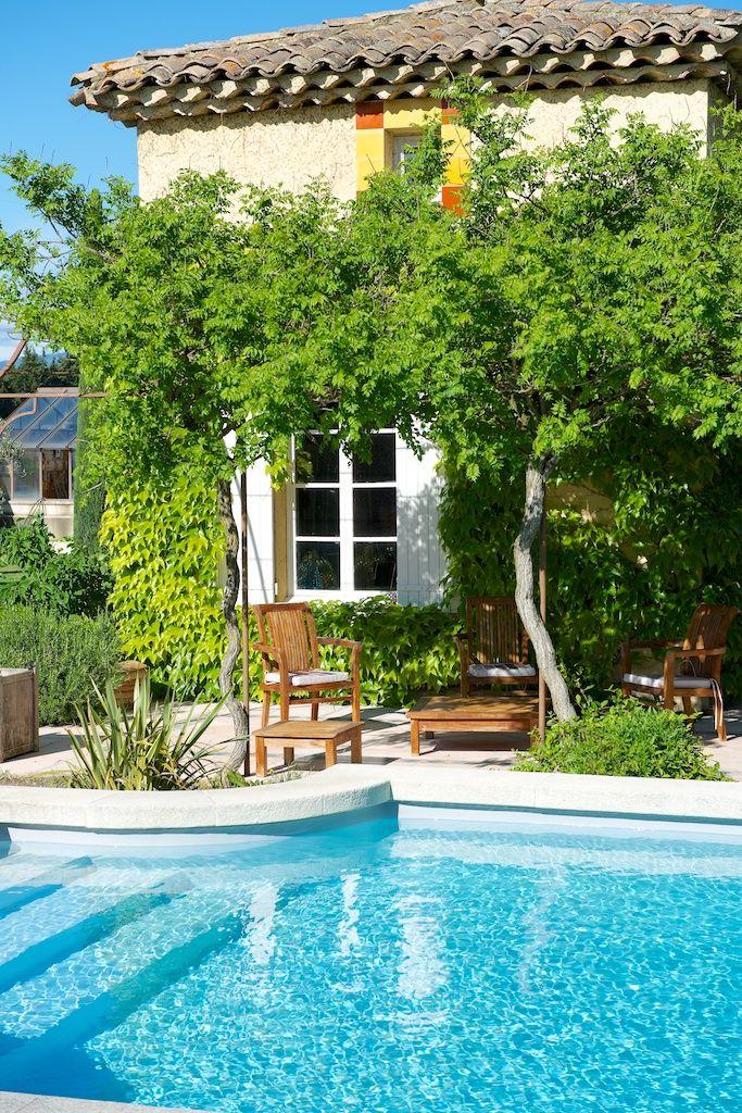 piscine et pool house (ancien pigeonnier) Conception et Création