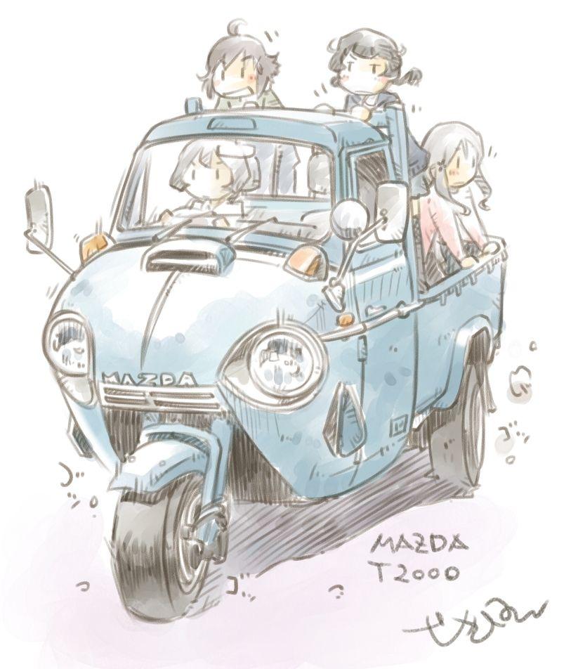 最近ののりもの絵 5 かわいい車 車の絵 車 イラスト