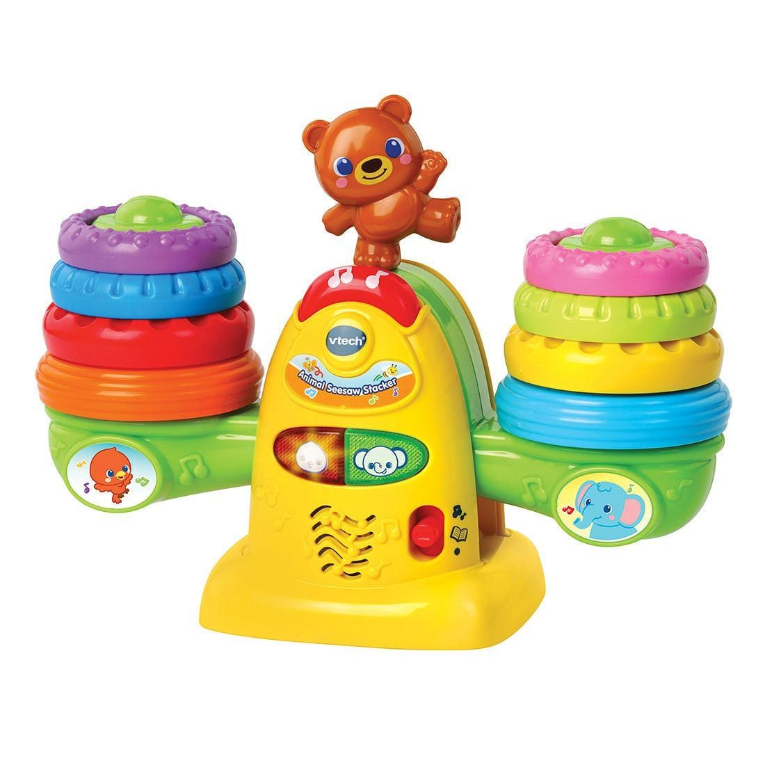 Vtech Baby Animal Seesaw Stacker Vtech Baby Baby Play Toys