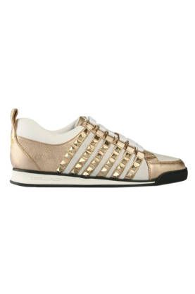 Dsquared2 Gold Studded Sneaker. Want!