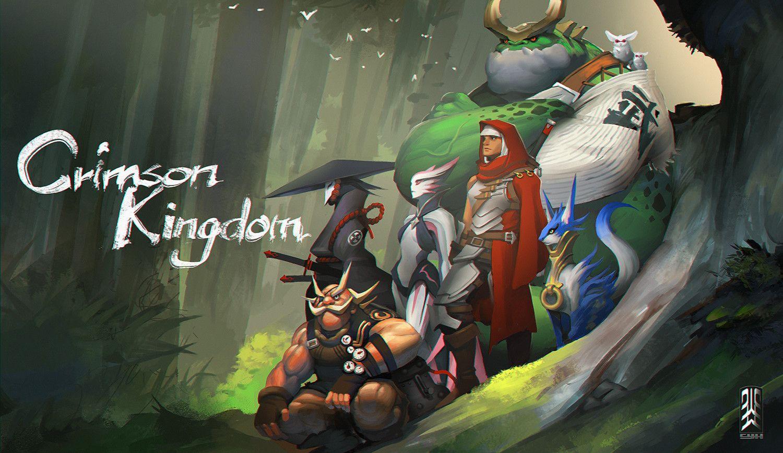 Crimson Kingdom, cho yonghee on ArtStation at https://www.artstation.com/artwork/zWw3L