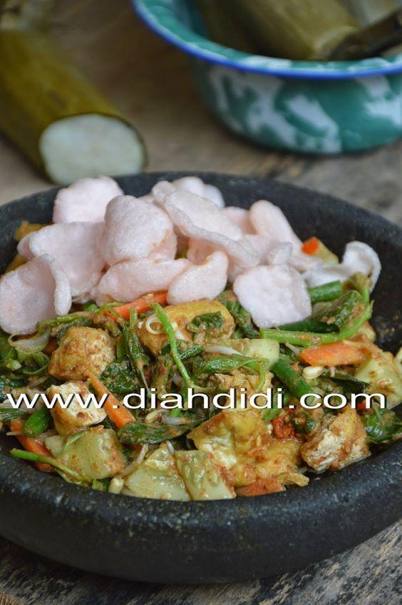 Diah Didi S Kitchen Lotek Yogya Resep Masakan Indonesia Makan Malam Masakan