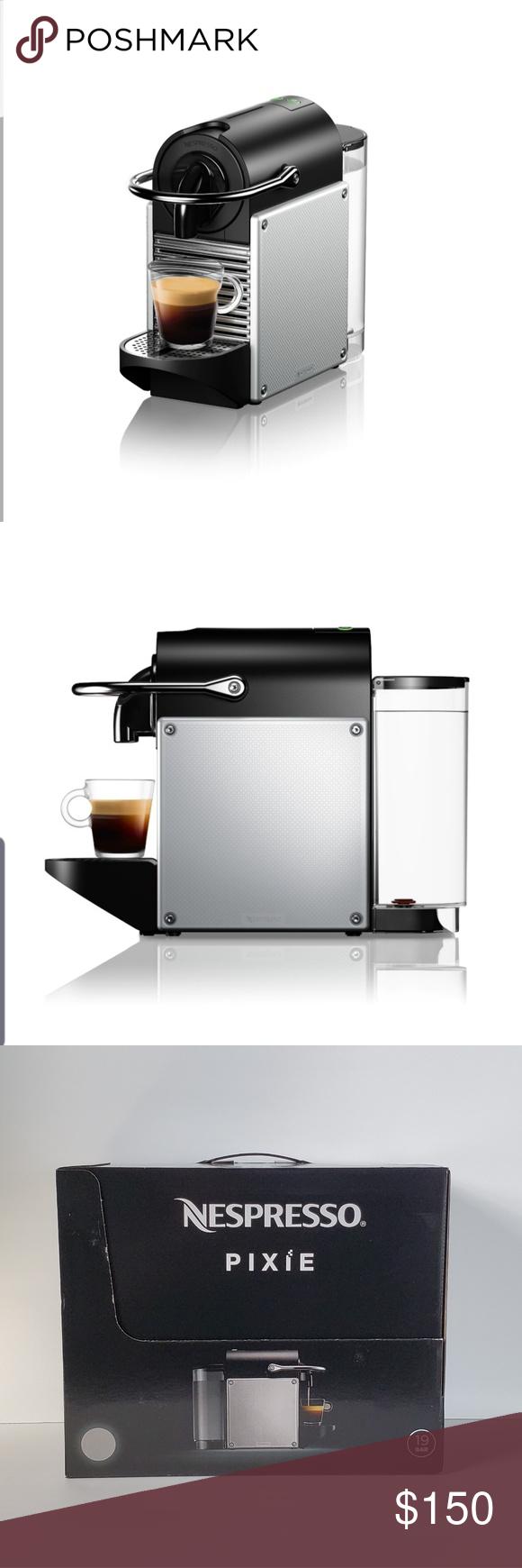 Nespresso Pixie Single Cup Coffee Maker New in Box Brand