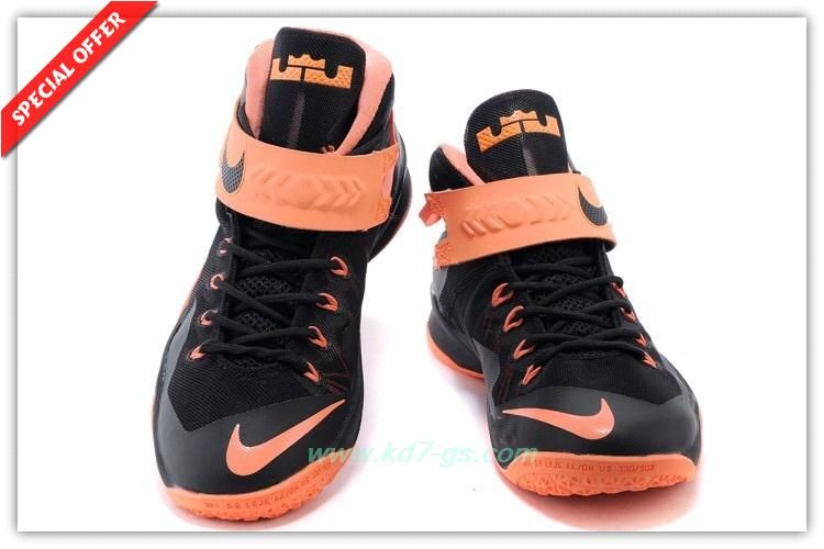 detailed look be03b f867a lebron zoom soldier 8 all svart  mens nike zoom soldier 8 black light  orange 653642 001 for cyber monday