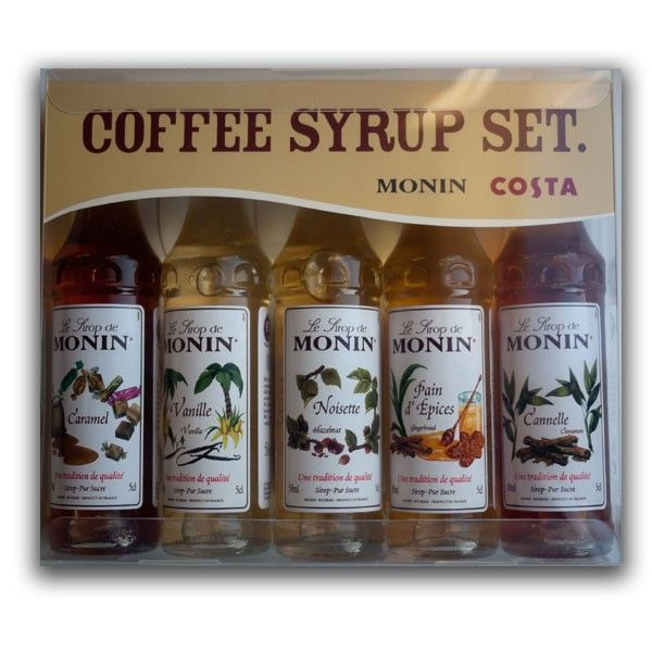Costa Coffee Syrup Gift Set
