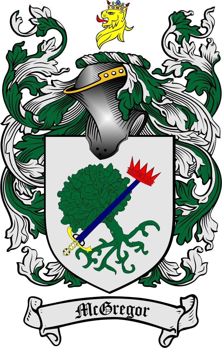 Mcgregor coat of arms familiy crest copyright 4crests ball family crest ball coat of arms gifts available at buycottarizona