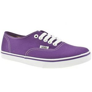 Purple Vans size 8 The shoes have definitely been worn but still have a lot  of life left in them. They're a size 6 in men's and a size 8 in women's ...