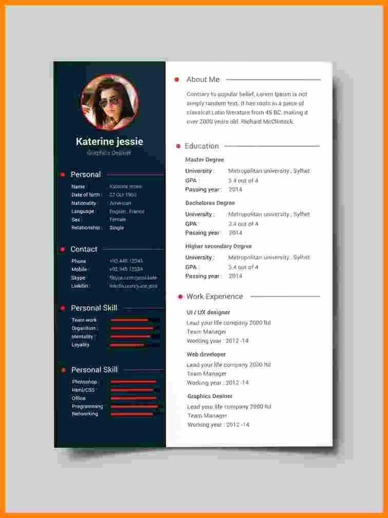 Free Resume Templates Pdf Best Of 10 Cv Format Template Pdf Cv Template Free Downloadable Resume Template Resume Template Professional