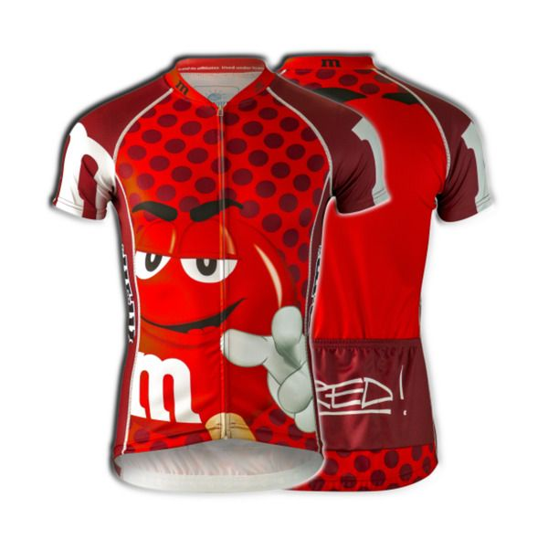 M M s Candy Cycling Jersey Men s Red Short Sleeve Brainstorm Gear Bicycle  M M  BrainstormGear  ClubCut 7a67fd795