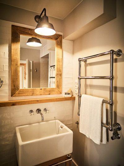 Rustikal Badezimmer by Barefoot Living Barefoot Hotel von Til - vorhänge für badezimmer