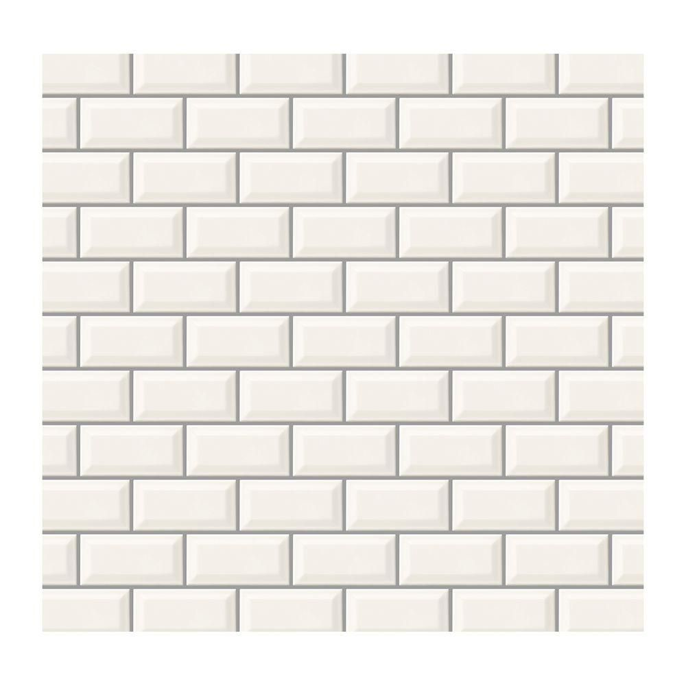 Daltile rittenhouse square white 3 in x 6 in glazed ceramic bevel daltile rittenhouse square white 3 in x 6 in glazed ceramic bevel wall tile dailygadgetfo Images